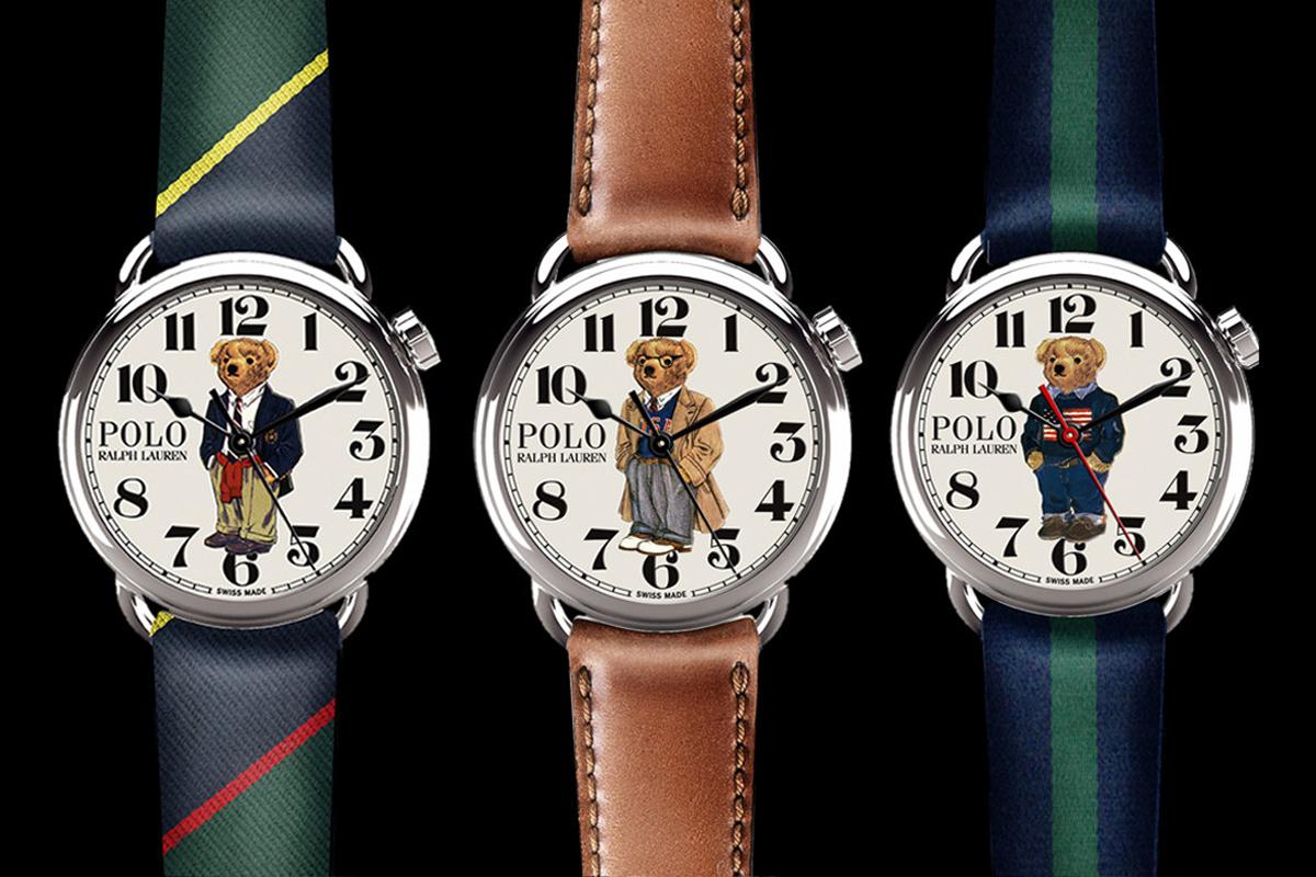 RALPH LAUREN Polo Bear Watches