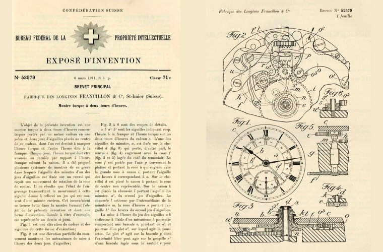 """On this day"": 6 marzo 1911, brevetto per orologio da tasca ""turco"""