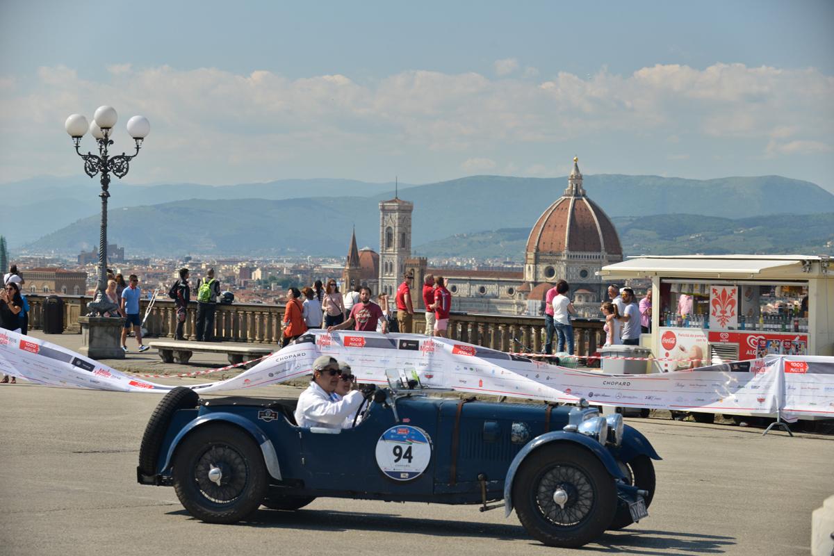 La Mille Miglia a Firenze