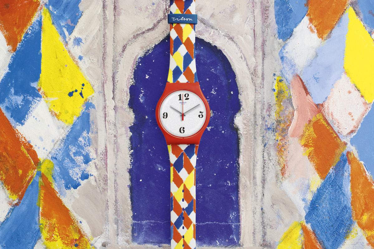 Swatch e la Biennale: l'esemplare dedicato