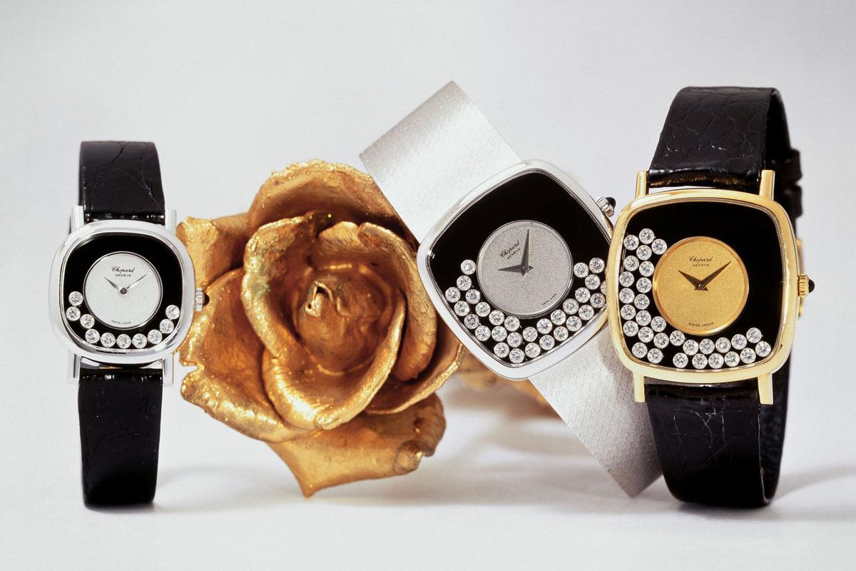 I nomi degli orologi Happy Diamonds vengono dai diamanti mobili