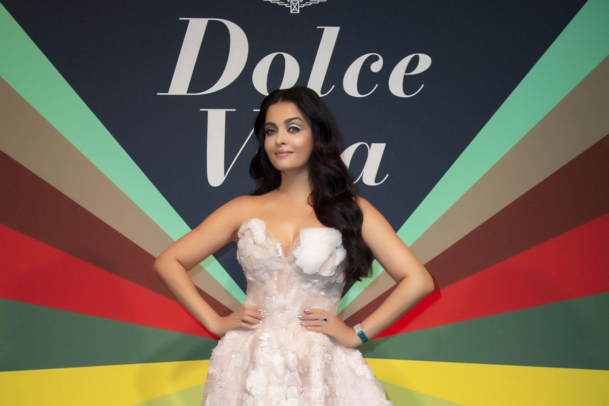 Aishwarya Rai Bachchan, protagonista della serata DolceVita