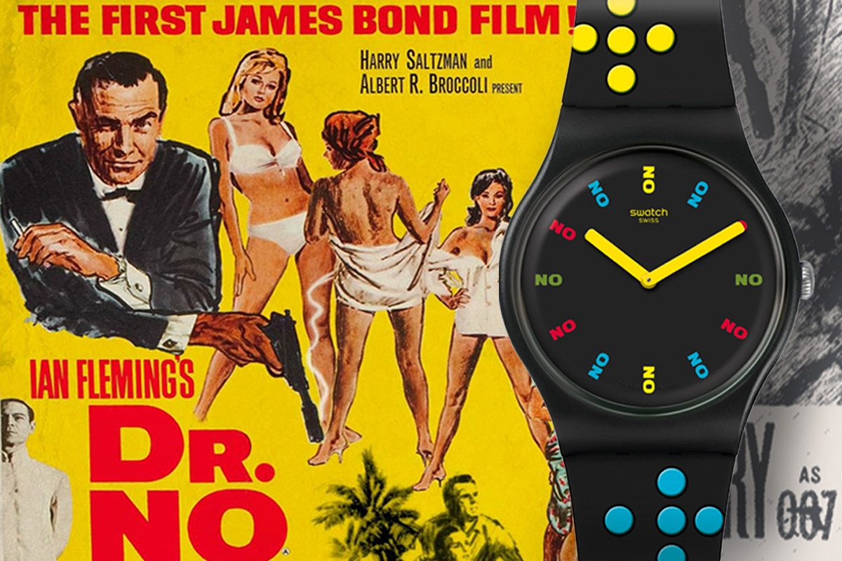 Swatch X 007 Dr No