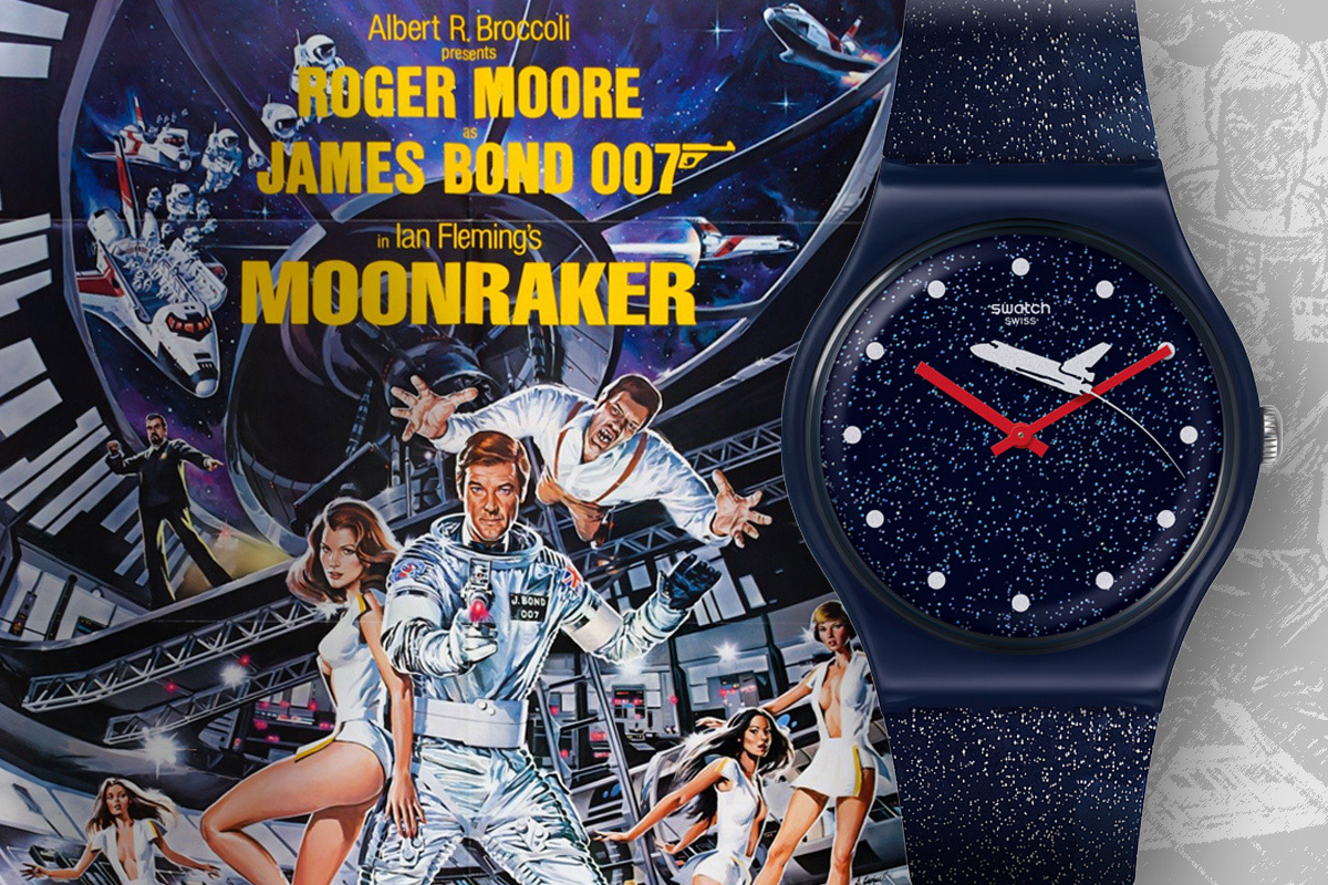 Swatch X 007 Moonraker 1979