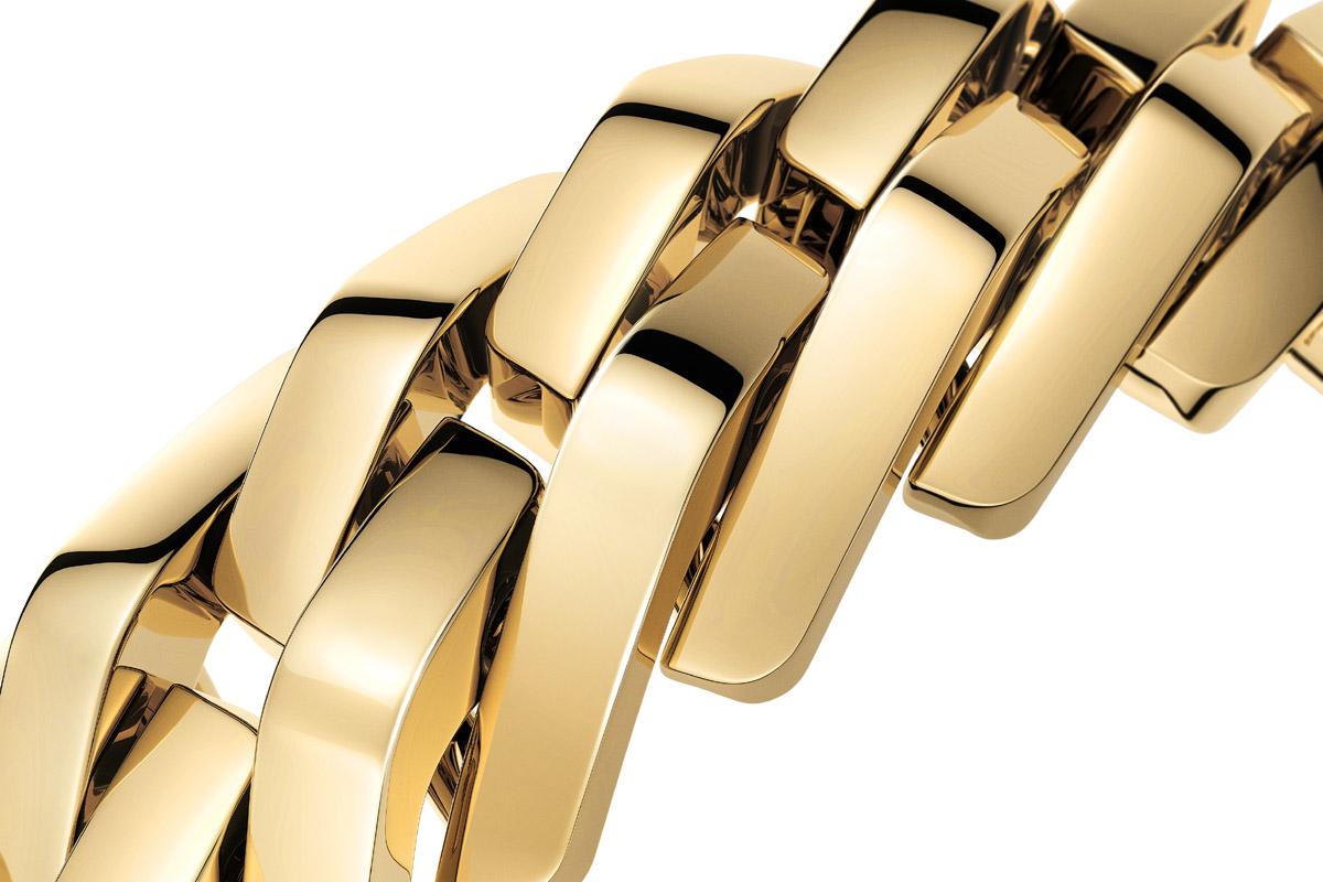 Le maglie del bracciale del Maillon de Cartier