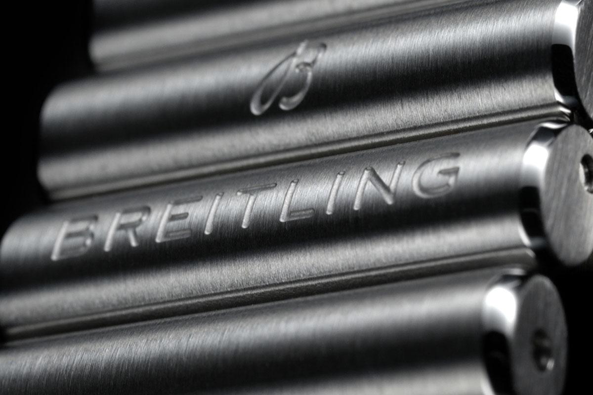 Il bracciale Rouleaux del Breitling Chronomat