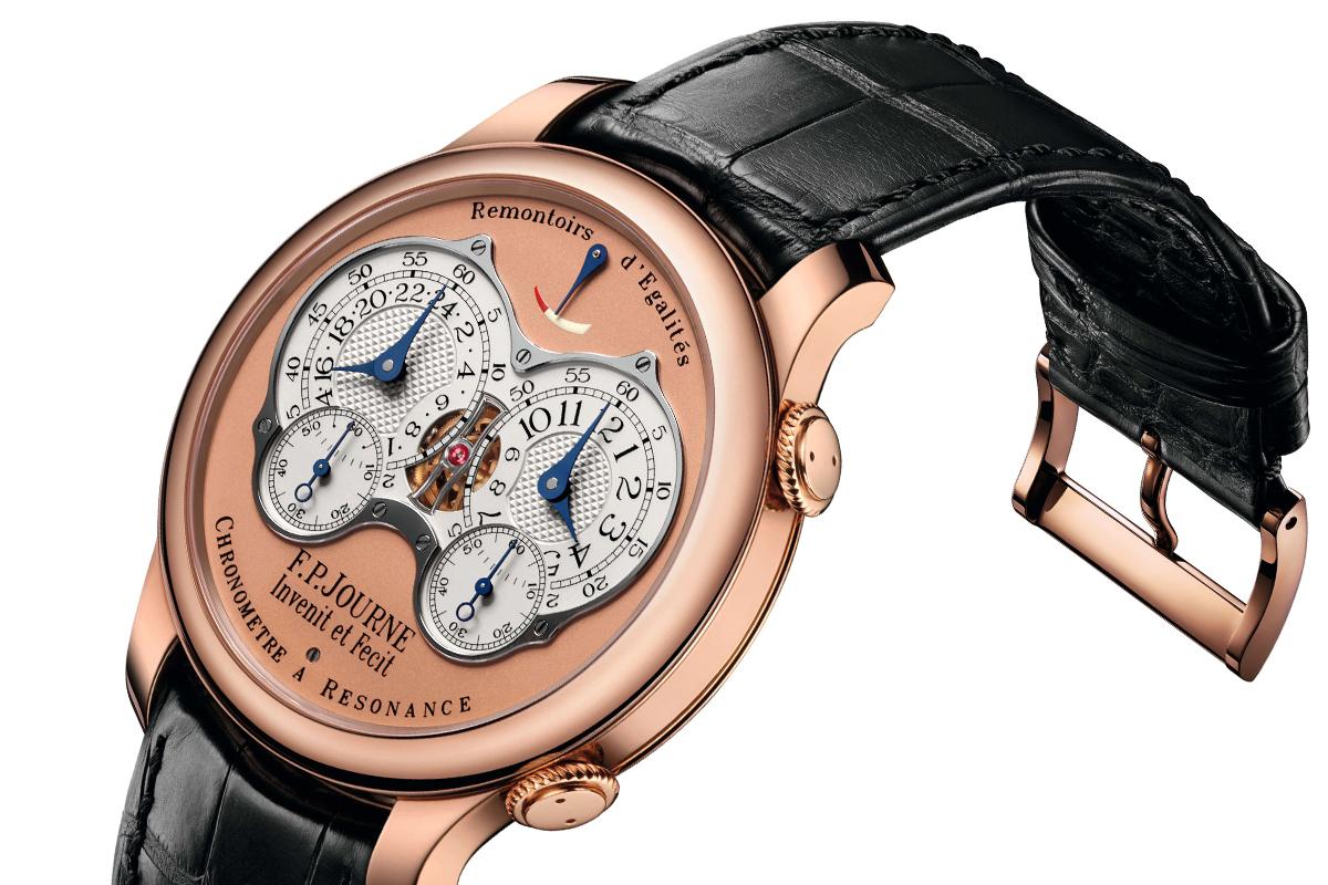 Chronomètre à Résonance in oro rosa