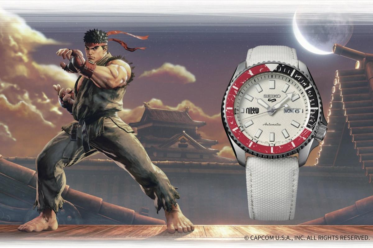 Seiko 5 Sports Street Fighter Ryu