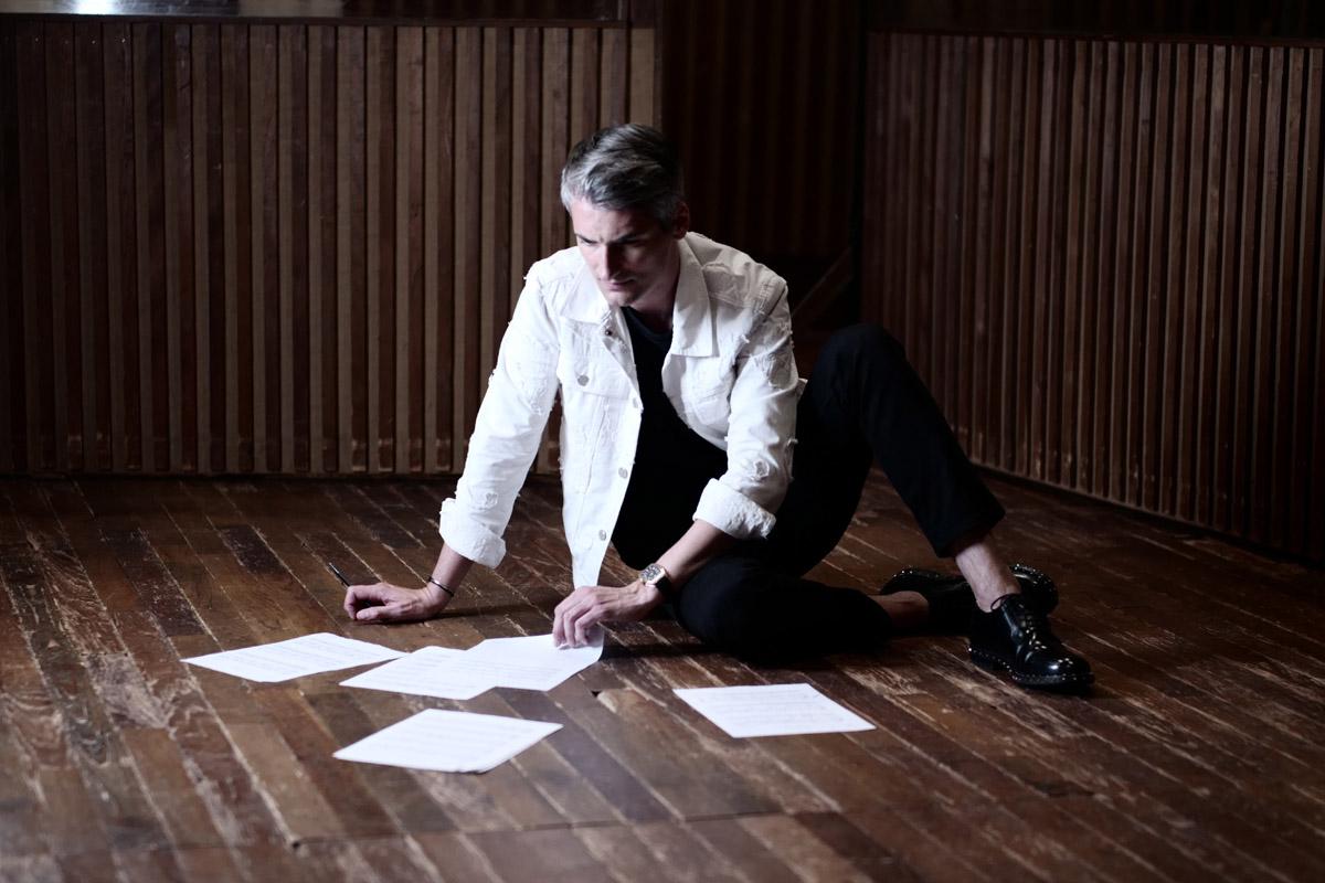 Il compositore/musicista Thomas Roussel