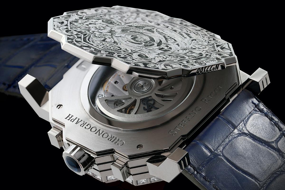 La cuvette del Cronografo Octagon