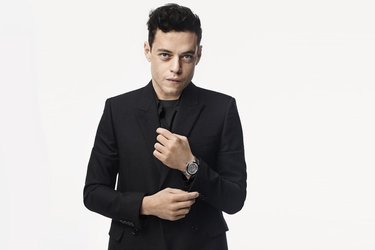 Rami Malek, uno dei protagonisti della campagna Cartier
