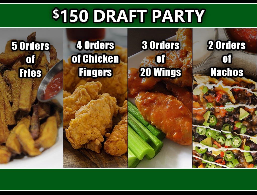 Hold Your Draft Party at Giovani's