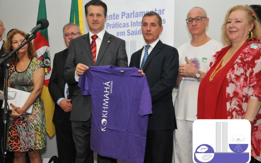 Giovani Cherini preside Frente Parlamentar de Práticas Integrativas em Saúde