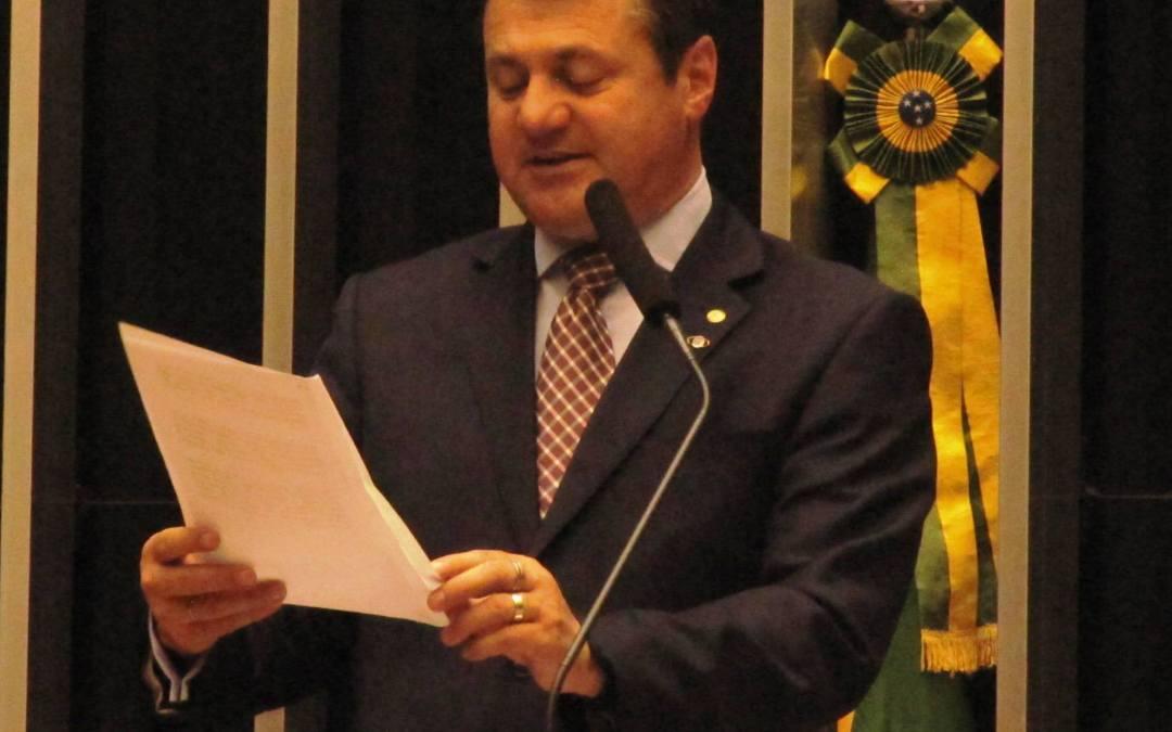 Giovani Cherini pede auxílio do governo federal para melhorar a situação das cheias no RS