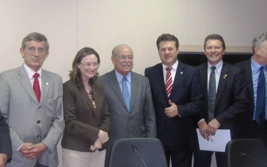 Giovani Cherini participa de reunião da Bancada Gaúcha no Ministério dos Transportes
