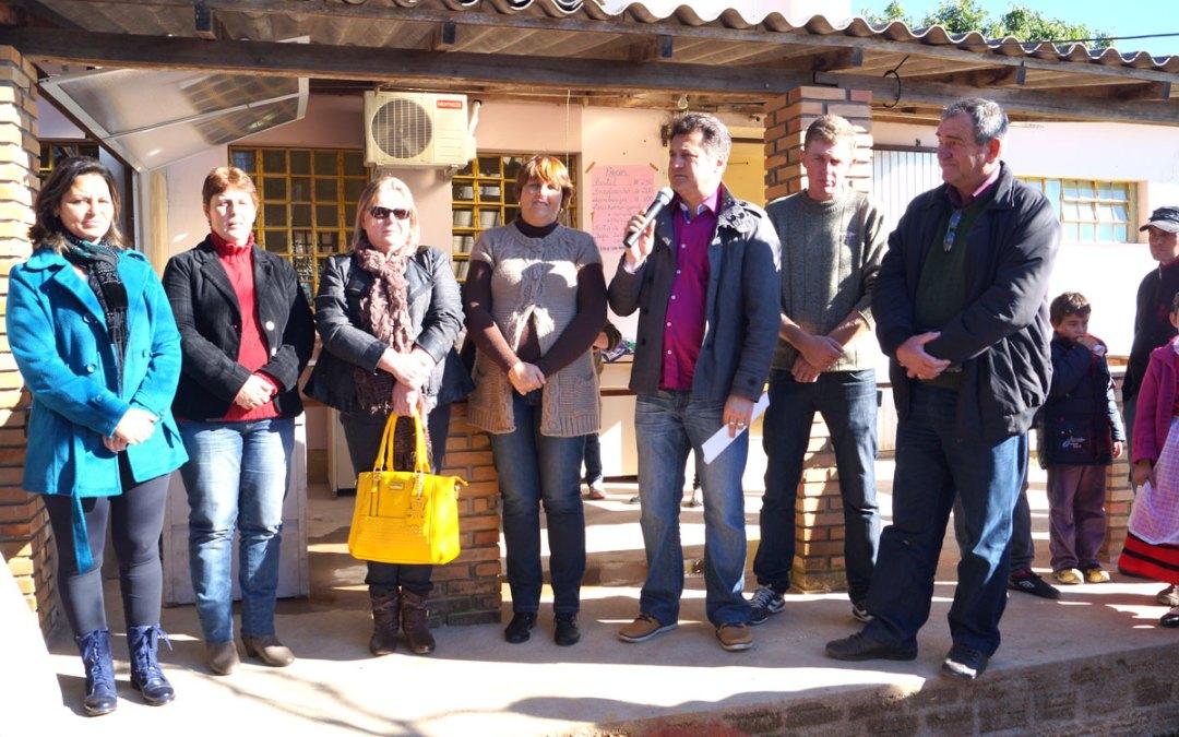 Escola beneficiada com emenda parlamentar de Giovani Cherini