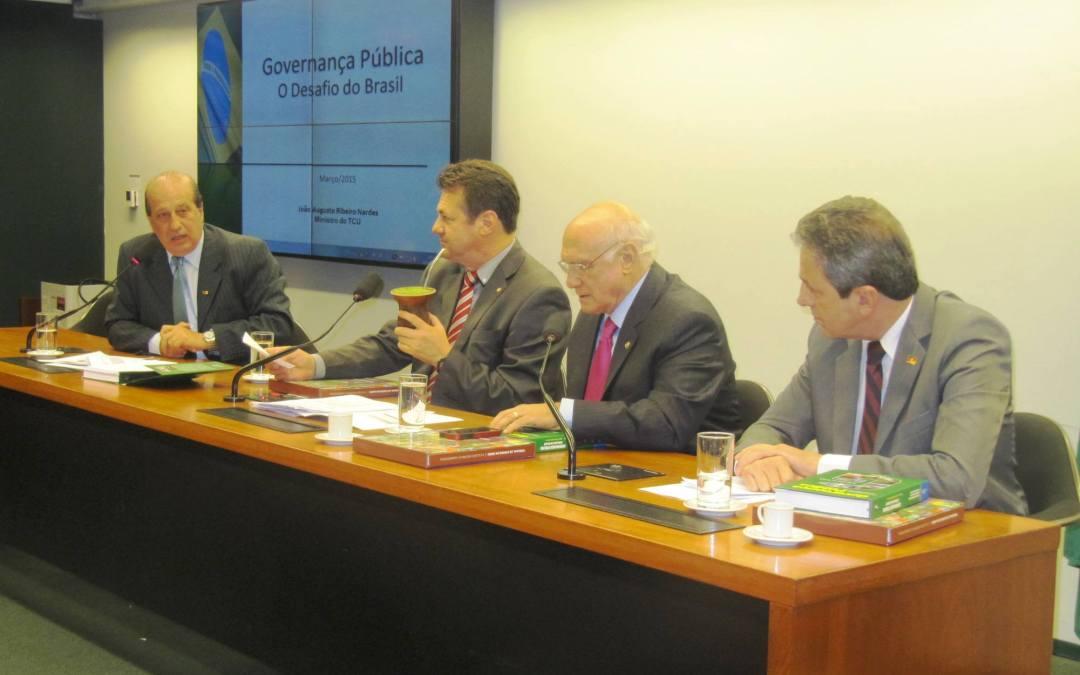 Giovani Cherini exalta presença do ministro Nardes em reunião da Bancada Gaúcha