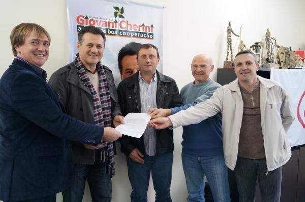 Emenda parlamentar para beneficiar a agricultura de Canudos do Vale