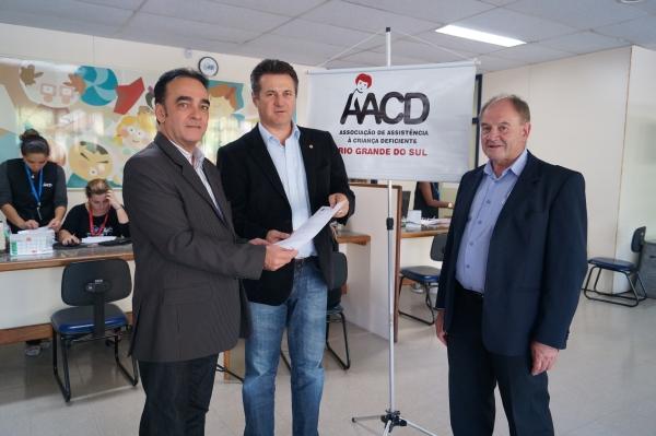 AACD Porto Alegre recebe emenda parlamentar do deputado Giovani Cherini