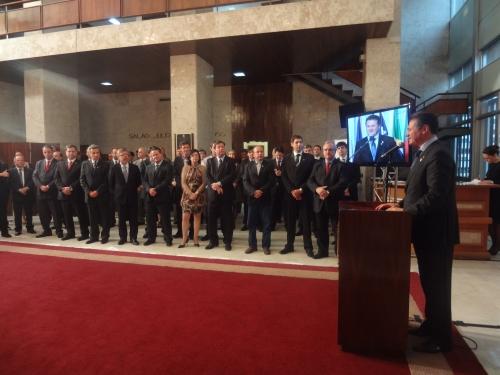Cherini participa do lançamento do canal digital aberto da TV Assembleia