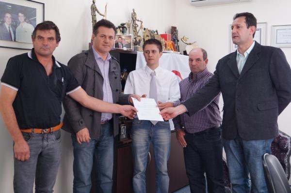 Município de Caiçara recebe emenda parlamentar de R$ 250 mil reais do deputado federal Giovani Cherini
