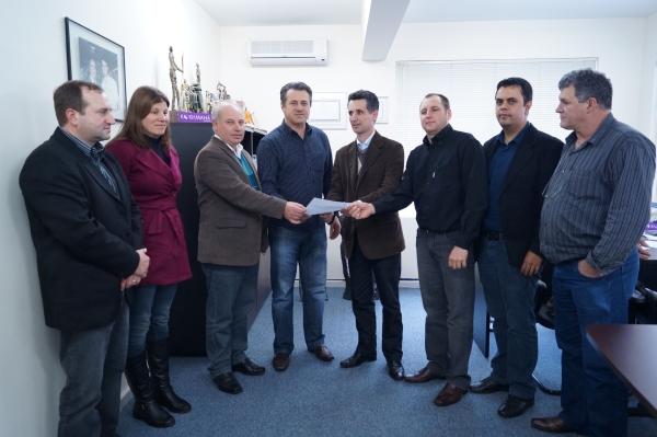 Município de Gentil recebe emenda parlamentar do deputado Giovani Cherini
