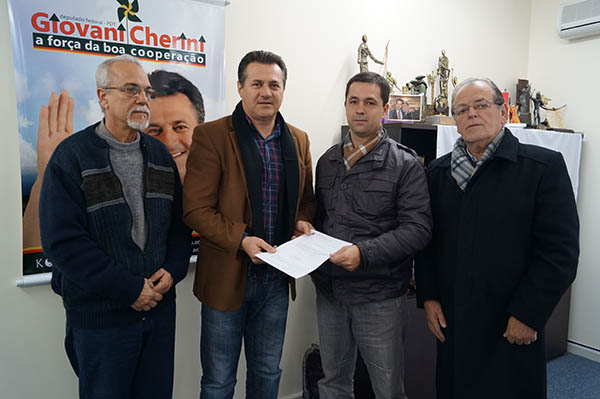 Município de São Jerônimo recebe emenda parlamentar do deputado federal Giovani Cherini