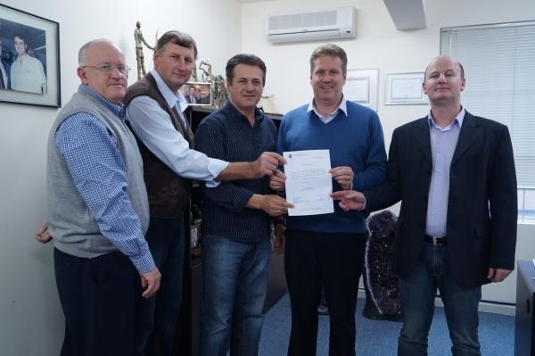 Município de Victor Graeff recebe emenda parlamentar do deputado Giovani Cherini