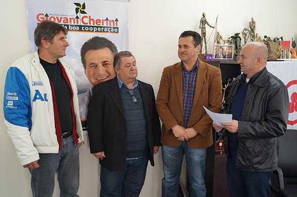 Nova Bréscia recebe emenda parlamentar do deputado federal Giovani Cherini