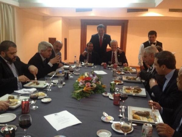 Almoço com ministros do trabalho do Mercosul