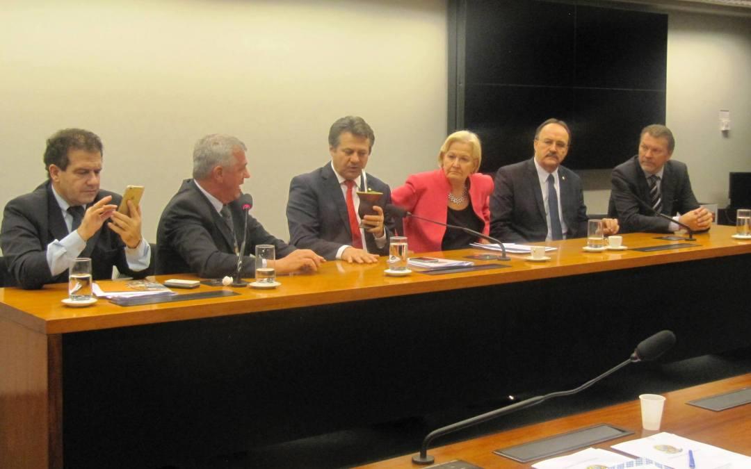 Bancada Gaúcha recebe UERGS, Câmara do Livro e Prefeitura de Porto Alegre