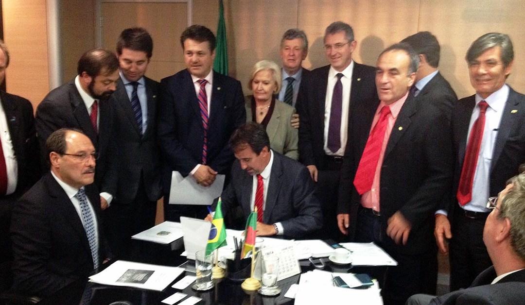 Barragens de Taquarembó (Dom Pedrito) e Jaguari (Rosário do Sul) tem sinal positivo do Ministro da Integração Nacional