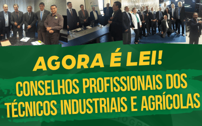 Deputado Giovani Cherini comemora a criação do Conselho Federal dos Técnicos Agrícolas e o Conselho Federal dos Técnicos Industriais