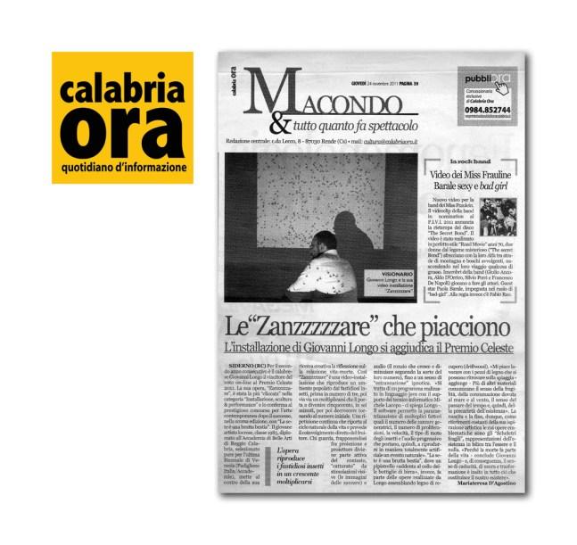 """D'agostino M. (2011) """"Le Zanzzzzzare che piacciono"""""""