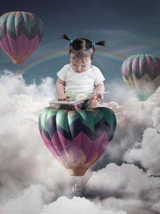 Flying High - Photoshop