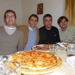Cena con amici scrittori