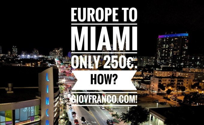 Sustainable & Smart Travel: a week in Miami, how to survive?
