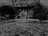 UFO mokuton 3D black and white