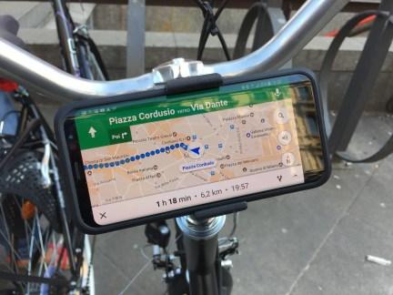 Navigatore e smartphone in bicicletta? Niente di più semplice 2