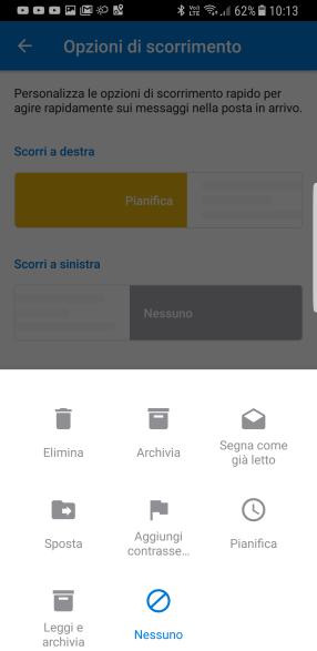 "Outlook 2016: disattivare il pulsante ""Archivia"" 2"