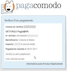 pagoPA, ING Direct e la TARI 2017 di Milano 6
