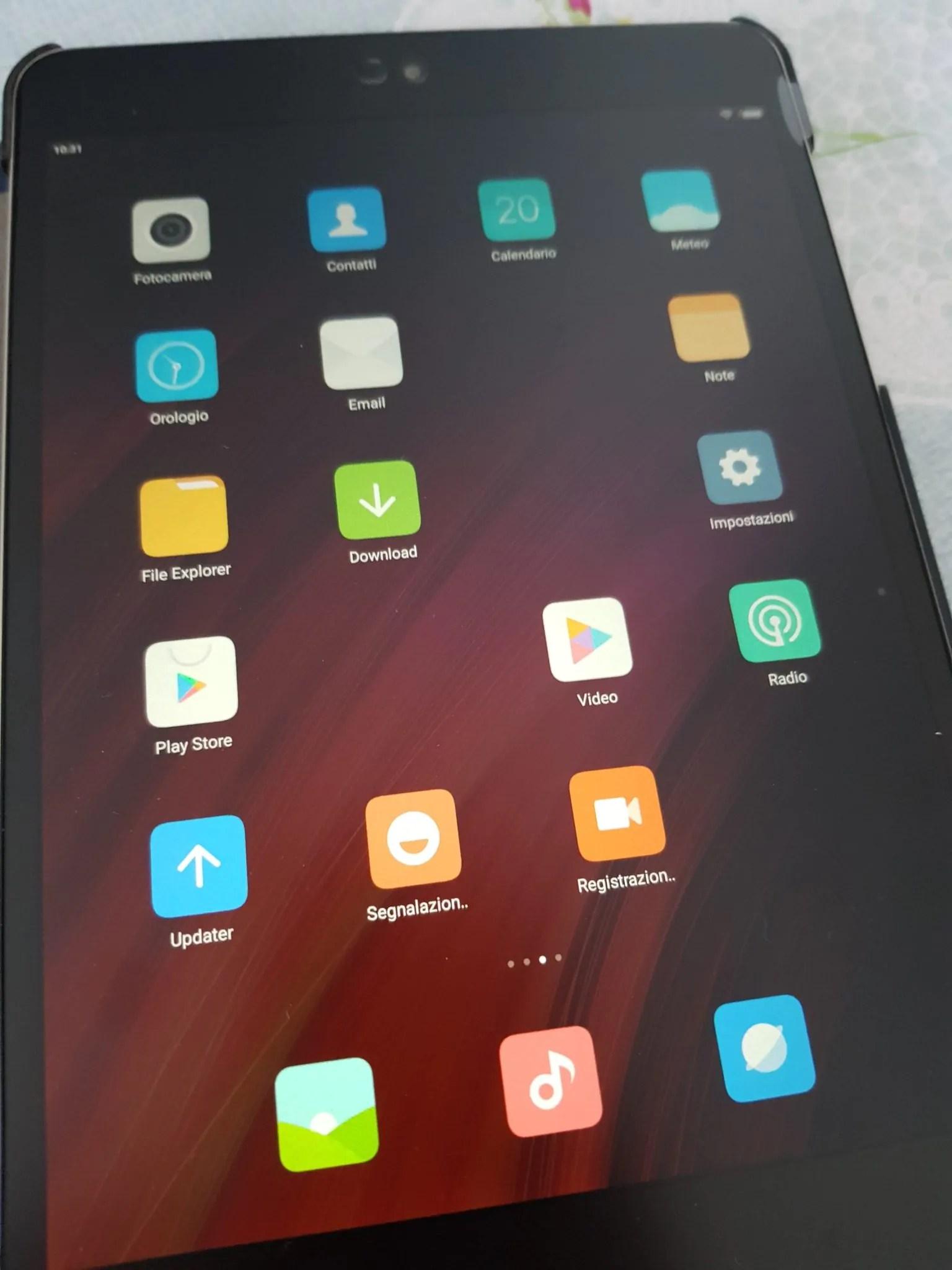 Xiaomi Mi Pad 3: cambiare il firmware per ottenere la lingua italiana 18