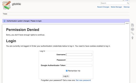 DokuWiki: HTTPS e autenticazione in due fattori 4