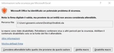 Excel: eliminare collegamenti ad altre cartelle quando non funziona l'interruzione 3