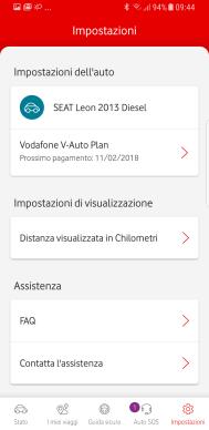 V-Auto by Vodafone: la porta OBD comunica con lo smartphone 13