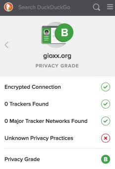 Un'occhiata a DuckDuckGo Privacy Essentials 2