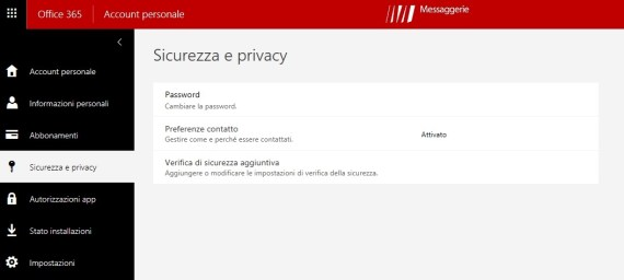 Office 365: modificare il metodo di verifica autenticazione 2-Step