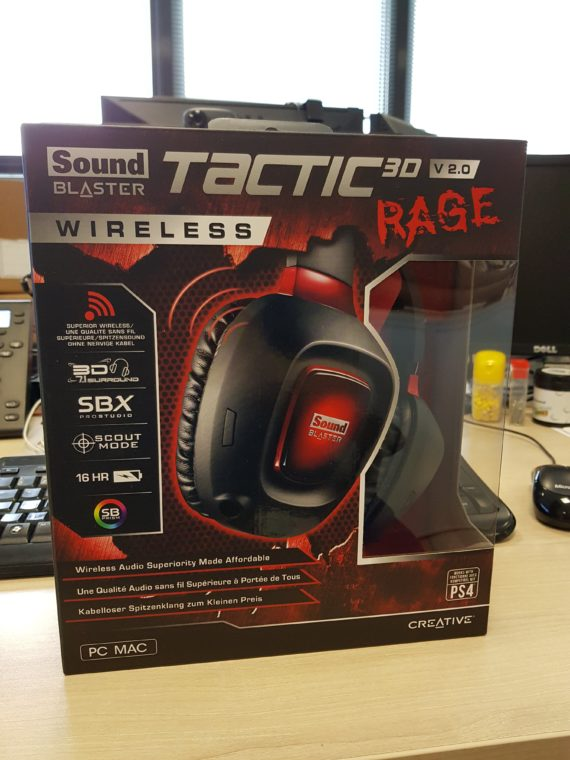 Creative Sound Blaster Tactic3D Rage Wireless V2.0 1