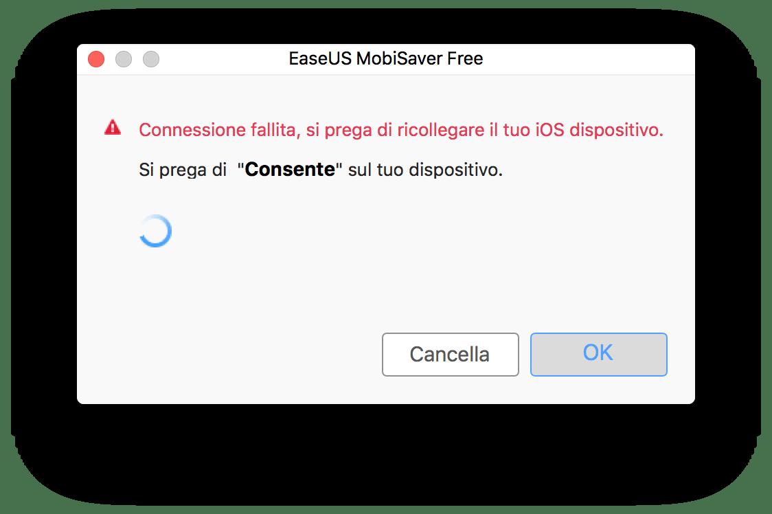 EaseUS MobiSaver recupera i dati dei tuoi dispositivi iOS 3