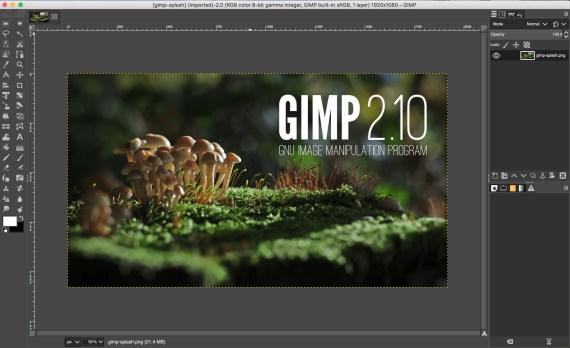 macOS: Gimp 2.10 (non ufficiale)